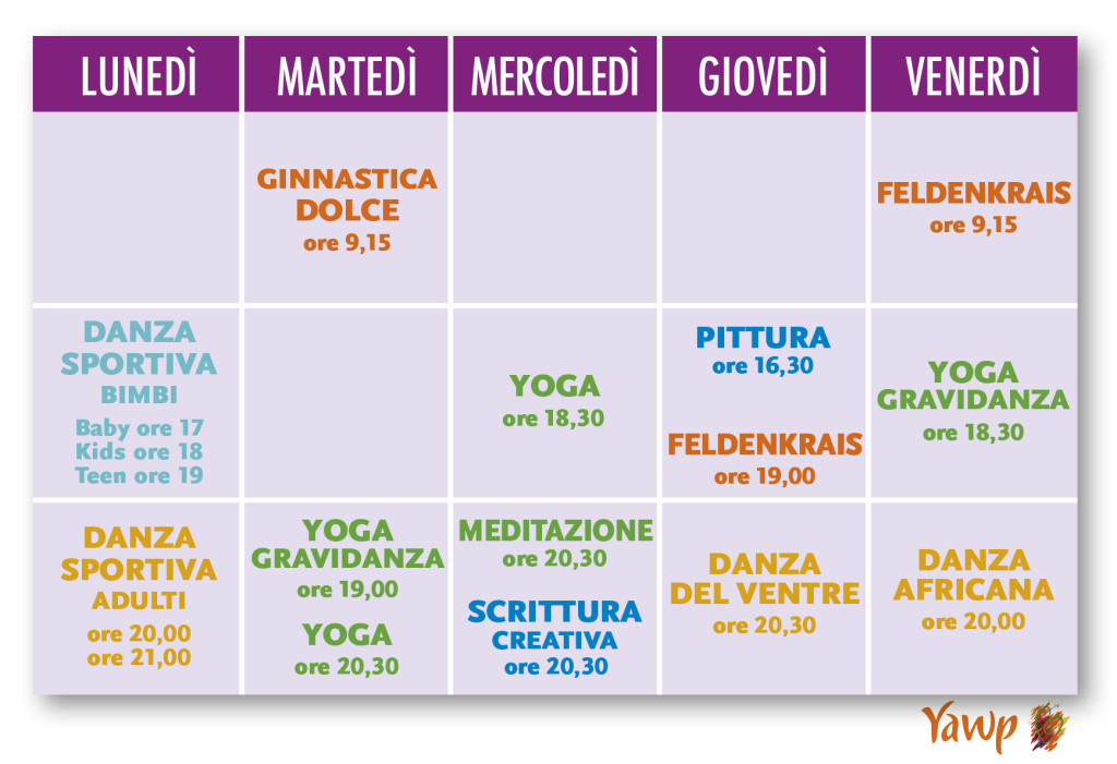 calendario YAWP