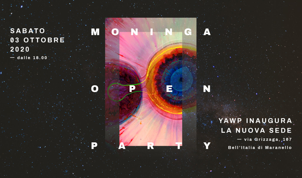 Moninga Open Party_Copertina